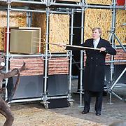 NLD/den Bosch/20160212 - Koning Willem Alexander opent de tentoonstelling Jheronimus Bosch in het in Het Noordbrabants Museum, Koning Willem Alexander opent de tentoonstelling