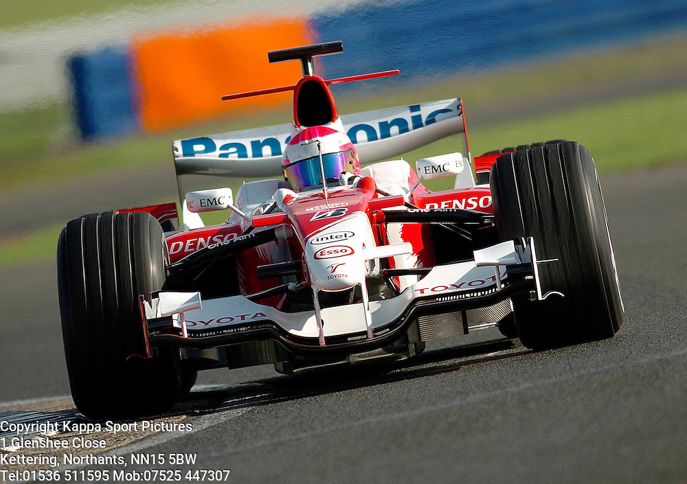 FRANCK MONTAGNY French Super Aguri  F1 Formula One Test Silverstone 19th September 2006 :Photo Mike Capps