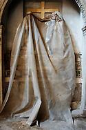 Napoli, Italia - Una veduta dell'interno  della chiesa di Santa Maria delle Grazie a Caponapoli a Napoli. <br /> Ph. Roberto Salomone Ag. Controluce<br /> ITALY - A view of the inside of  church of Santa Maria delle Grazie a Caponapoli in Naples on July 25, 2013.