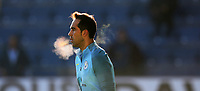 Football - 2016/2017 Premier League - Burnley vs Manchester City <br /> <br /> Claudio Bravo of Manchester City warms up before the match at Turf Moor <br /> <br /> COLORSPORT/LYNNE CAMERON