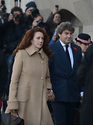** File pics - Rebekah Brooks return to News UK** © Licensed to London News Pictures.28/10/2013. London, UK. Rebekah Brooks, the former head of News International and her husband Charlie Brooks arrive at Old Bailey court on October 28, 2013 in London where she faces charges relating to phone hacking scandal. Photo credit : Peter Kollanyi/LNP