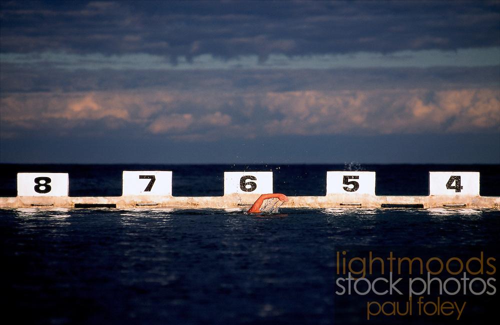 Swimmer, Merewether Ocean Baths
