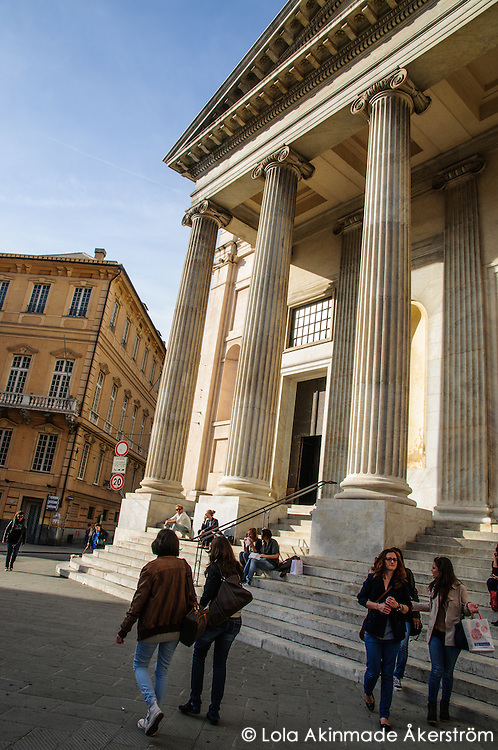 Scenes from Genoa, Italy
