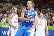 KOPER EUROBASKET 2013 4 SETTEMBRE 2013<br /> NAZIONALE ITALIANA MASCHILE<br /> ITALIA-RUSSIA<br /> NELLA FOTO: MARCO CUSIN<br /> FOTO CIAMILLO