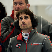 Nico Prost watches the final few minutes of the FIA World Endurance Championship Round Two, Spa 6 Hour race
