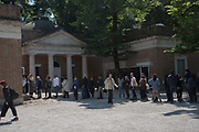 Queue outside American Pavilion, , Venice Biennale, 10 May 2017