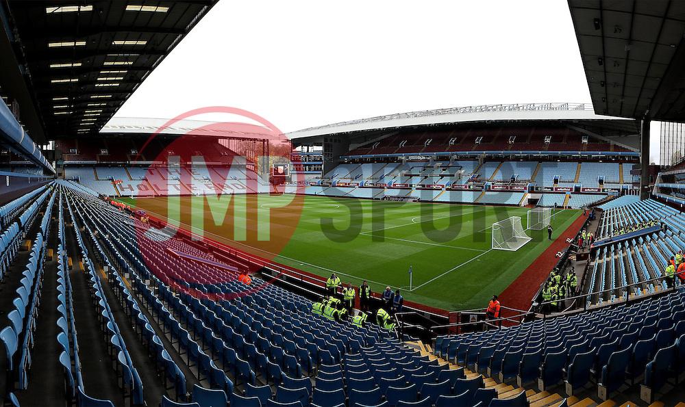 Villa Park, home of Aston Villa - Mandatory byline: Robbie Stephenson/JMP - 07966 386802 - 08/11/2015 - FOOTBALL - Villa Park - Birmingham, England - Aston Villa v Manchester City - Barclays Premier League