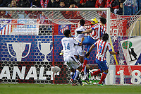 09.12.2012 SPAIN -  La Liga 12/13 Matchday 15th  match played between Atletico de Madrid vs R.C. Deportivo de la Courna (6-0) at Vicente Calderon stadium. The picture show  Diego da Silva Costa (Brazilian midfielder of At. Madrid)
