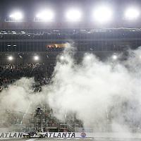 Hampton, GA - Aug 30, 2014: Kevin Harvick (5) wins the Great Clips 300 at Atlanta Motor Speedway in Hampton, GA.