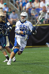 31 May 2010: Duke Blue Devils midfielder Sam Payton (32) in a 5-6 win over the Notre Dame Fighting Irish for the NCAA Lacrosse Championship at M&T Bank Stadium in Baltimore, MD.