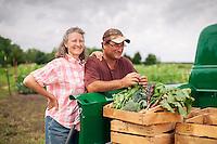 Paula Sims, Eric Sims, Morning Harvest Farms, Walton, KS, May 2015, American AgCredit.