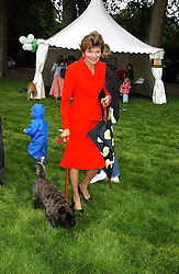 THE COUNTESS OF HALIFAX at the 3rd annual Macmillan Dog Day in aid of Macmillan Cancer Relief held at Royal Hospital Chelsea, London SW3 on 5th July 2005.<br /><br />NON EXCLUSIVE - WORLD RIGHTS