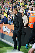 Norwich City Manager Daniel Farke before the EFL Sky Bet Championship match between Norwich City and Sheffield Wednesday at Carrow Road, Norwich, England on 19 April 2019.