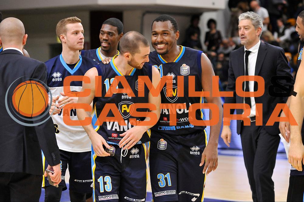 Matt Carlino - Elston Turner<br /> Banco di Sardegna Dinamo Sassari - Vanoli Cremona<br /> LegaBasket Serie A LBA Poste Mobile 2016/2017<br /> Sassari 26/11/2016<br /> Foto Ciamillo-Castoria