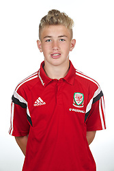 CARDIFF, WALES - Wednesday, September 24, 2014: Wales' George Ratcliffe. (Pic by David Rawcliffe/Propaganda)