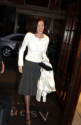 LADY BLACK at a party to celebrate the publication of 'Last Voyage of The Valentina' by Santa Montefiore at Asprey, 169 New Bond Street, London W1 on 12th April 2005.<br /><br />NON EXCLUSIVE - WORLD RIGHTS