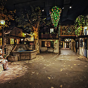 The European village at the Milwaukee County Museum.