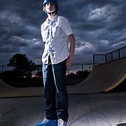 Alex, inline skater
