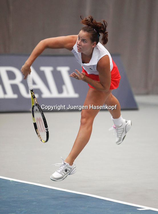 Generali Ladies Linz Open 2010,WTA Tour, Damen.Hallen Tennis Turnier in Linz, Oesterreich,.Jarmila Groth (AUS)