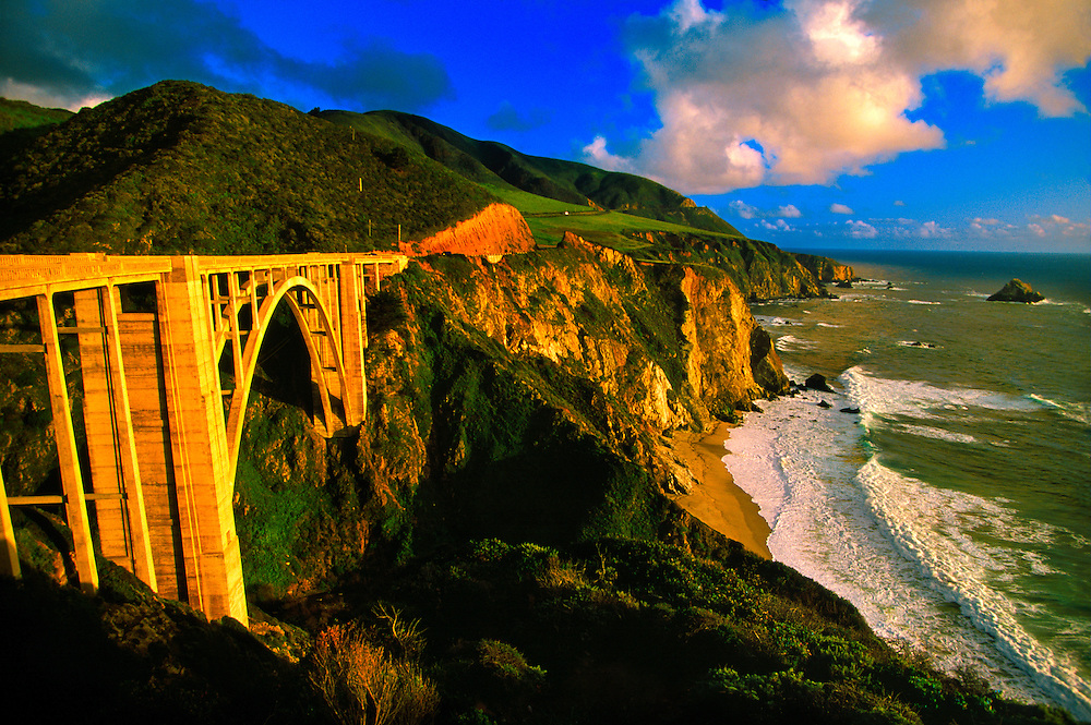 Bixby Bridge, near Big Sur, Monterey County, California