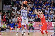 DESCRIZIONE : Beko Legabasket Serie A 2015- 2016 Playoff Quarti di Finale Gara3 Dinamo Banco di Sardegna Sassari - Grissin Bon Reggio Emilia<br /> GIOCATORE : Josh Akognon<br /> CATEGORIA : Tiro Tre Punti Three Point Controcampo Ritardo<br /> SQUADRA : Dinamo Banco di Sardegna Sassari<br /> EVENTO : Beko Legabasket Serie A 2015-2016 Playoff<br /> GARA : Quarti di Finale Gara3 Dinamo Banco di Sardegna Sassari - Grissin Bon Reggio Emilia<br /> DATA : 11/05/2016<br /> SPORT : Pallacanestro <br /> AUTORE : Agenzia Ciamillo-Castoria/L.Canu