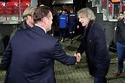 coach Gertjan Verbeek of FC Twente, Robert Eenhoorn