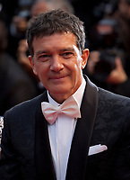 Actor Antonio Banderas at the Dolor Y Gloria (Pain and Glory) gala screening at the 72nd Cannes Film Festival Friday 17th May 2019, Cannes, France. Photo credit: Doreen Kennedy