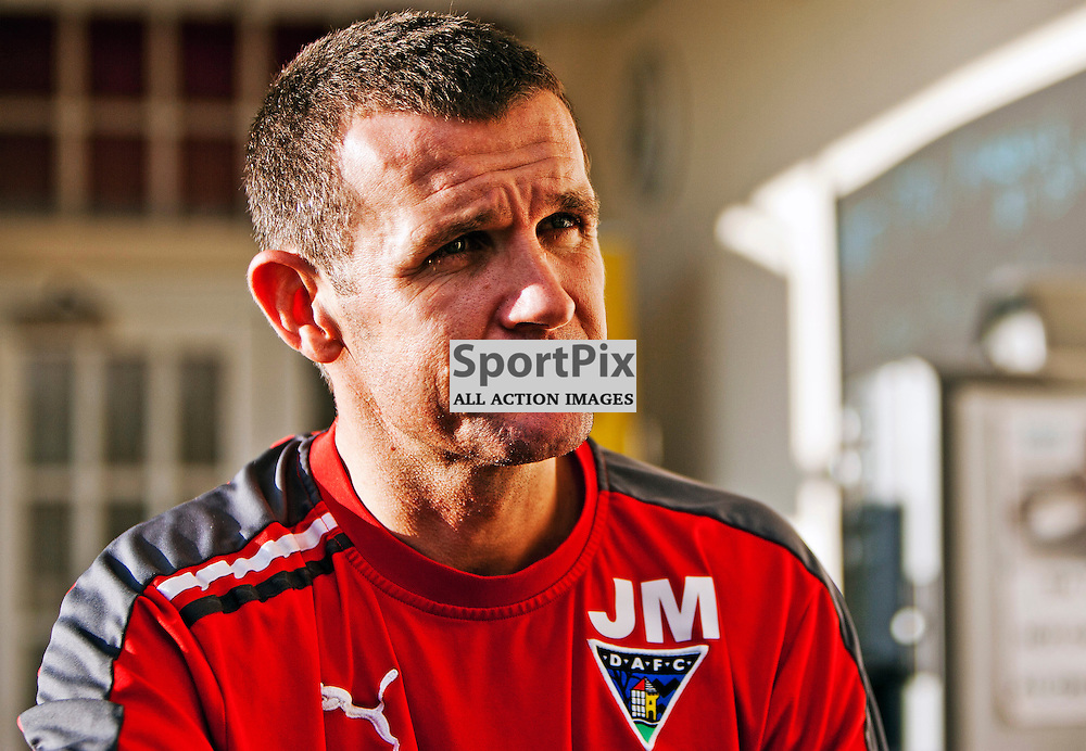 The Clydesdale Bank Scottish Premier League, Season 2011/12.Dunfermline Athletic Football Club - Pre match news conference (Celtic).17-11-11...Jim McIntyre talks to the press in this afternoons Dunfermline Athletic FC Pre match news conference...At Pitreavie- Dunfermline Academy of sport, Dunfermline...Picture, Craig Brown ..Tuesday 22nd November 2011.