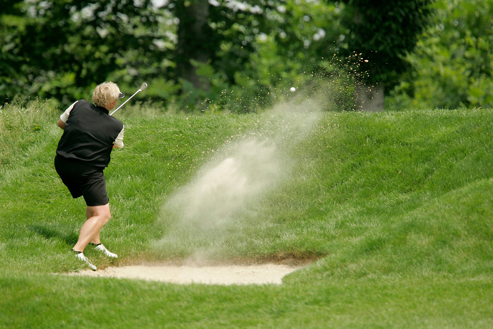 HAVRE DE GRACE , MARYLAND - JUNE 11, 2005<br /> Laura DAVIES during the third round of the 2005  McDonald's LPGA Championship held at Bulle Rock golf course in Havre De Grace, Maryland.
