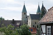 Stiftskirche Sankt Cyriakus, Gernrode, Harz, Sachsen-Anhalt, Deutschland| abbey church Sankt Cyriakus, Gernrode, Harz, Saxony-Anhalt, Germany