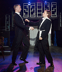 Victor / Victoria by Blake Edwards. In the picture: Henry Mancini & Leslie Bricusse, Southwark Playhouse, London, Great Britain, October 30, 2012. Photo by Elliott Franks / i-Images.