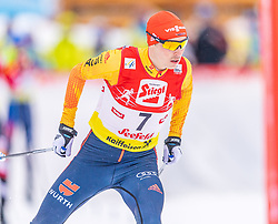 02.02.2020, Seefeld, AUT, FIS Weltcup Nordische Kombination, Langlauf, Gundersen 15 Km, im Bild Eric Frenzel (GER) // Eric Frenzel of Germany during the Gundersen 15 Km Cross Country Competition of FIS Nordic Combined World Cup at the Seefeld, Austria on 2020/02/02. EXPA Pictures © 2020, PhotoCredit: EXPA/ Stefan Adelsberger