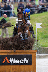 Anna Hilton, (SWE), Matrix W - Eventing Cross Country test - Alltech FEI World Equestrian Games™ 2014 - Normandy, France.<br /> © Hippo Foto Team - Leanjo de Koster<br /> 30/08/14