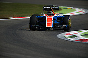 September 2, 2016: Pascal Wehrlein (GER), Manor , Italian Grand Prix at Monza