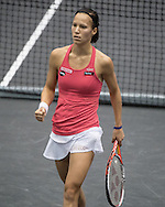 Viktorija Golubic (SUI) during the finals of the WTA Generali Ladies Linz Open at TipsArena, Linz<br /> Picture by EXPA Pictures/Focus Images Ltd 07814482222<br /> 16/10/2016<br /> *** UK &amp; IRELAND ONLY ***<br /> <br /> EXPA-REI-161016-5013.jpg