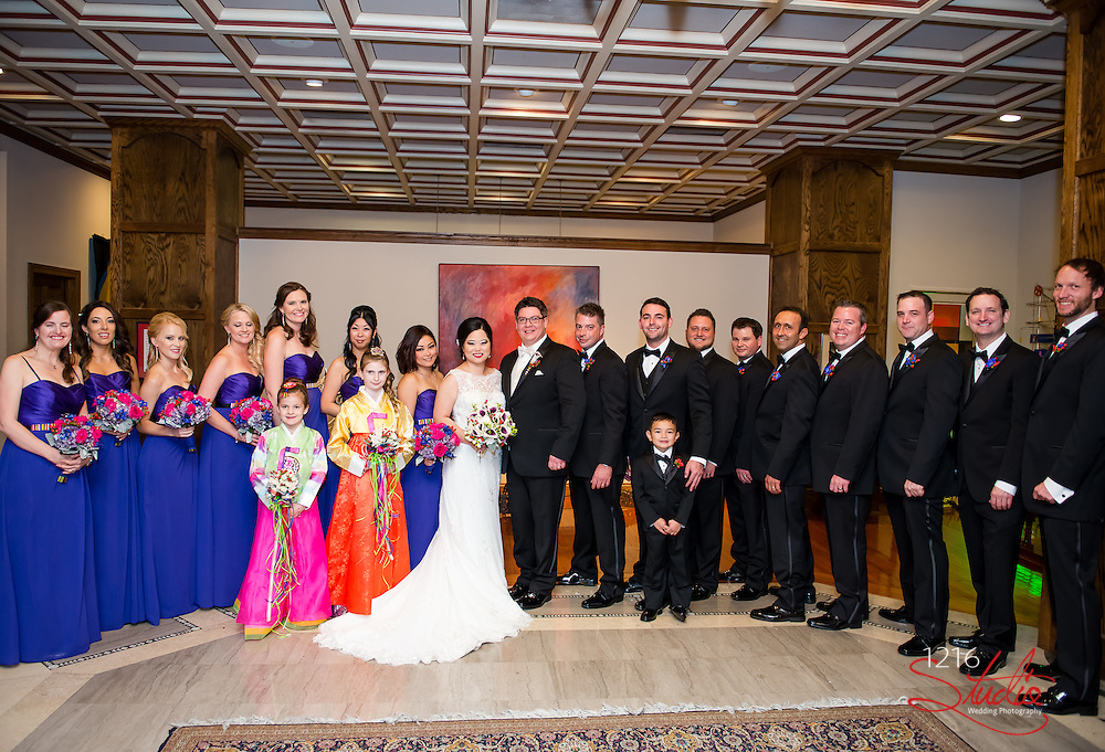 Erik & Sarah Wedding Album | The Roosevelt and Federal Ballroom | 1216 Studio Wedding Photography
