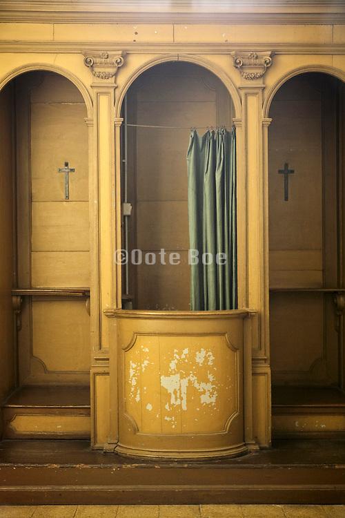 confession box