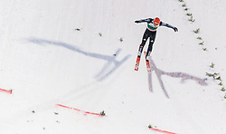 21.02.2016, Salpausselkae Schanze, Lahti, FIN, FIS Weltcup Ski Sprung, Lahti, Herren, im Bild Karl Geiger (GER) // Karl Geiger of Germany competes during Mens FIS Skijumping World Cup of the Lahti Ski Games at the Salpausselkae Hill in Lahti, Finland on 2016/02/21. EXPA Pictures © 2016, PhotoCredit: EXPA/ JFK