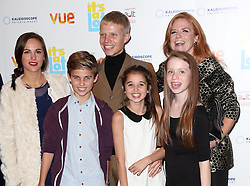 Patsy Palmer and family arriving at the premiere of It's A Lot , in London,Monday, 21st October 2013. Picture by Stephen Lock / i-Images