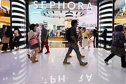 Sephora cosmetics shop in  Dubai Mall Dubai United Arab Emirates