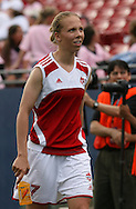 Canada's Brittany Timko on Saturday, May 12th, 2007 at Pizza Hut Park in Frisco, Texas. The United States Women's National Team defeated Canada 6-2 in a women's international friendly.