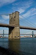 Brooklyn Bridge from Seaport,Manhattan,New York,U.S.A.