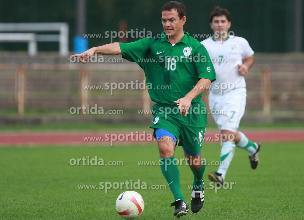 Nenad Protega at friendly football game between famous Slovenians at day of Fair play, on September 21, 2008 in Kodeljevo, Ljubljana, Slovenia. (Photo by Vid Ponikvar / Sportal Images)