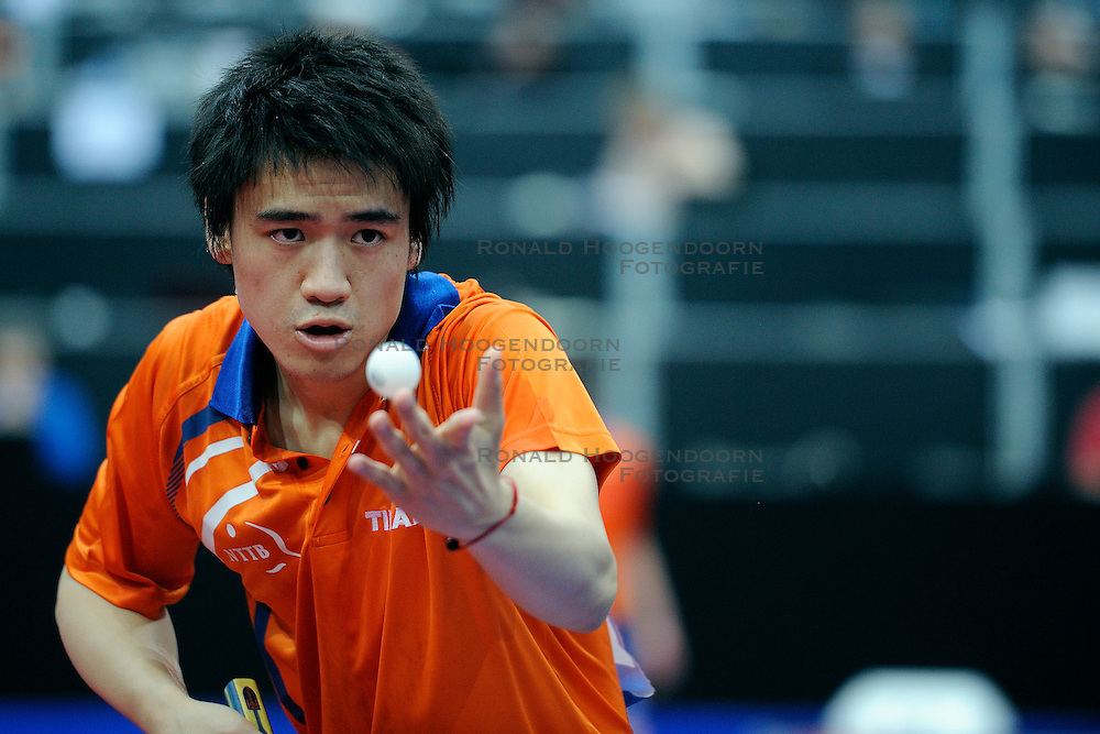 09-05-2011 TAFELTENNIS: WORLD TABLE TENNIS CHAMPIONSHIPS: ROTTERDAM<br /> Wai Lung Chung<br /> &copy;2011-FotoHoogendoorn.nl