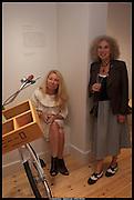 CLAIR WATSON; NANCY HONEY, Born in the USSR, Design exhibition opening. Gallery Elena Shchukina, Beauchamp Place, Knightsbridge. London. 15 September 2014.