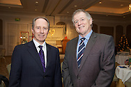 Pictured at The Ireland - U.S. Council Holiday Season Member - Guest Reception at the InterContinental Hotel were (L-R):