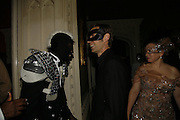 Tafari Andy, Nick Knight and his wife Charlotte, The Moet and Chandon Fashion Tribute 2006 Honouring British Photographer Nick Knight. Strawberry Hill House. Twickenham. 24 October 2006. -DO NOT ARCHIVE-© Copyright Photograph by Dafydd Jones 66 Stockwell Park Rd. London SW9 0DA Tel 020 7733 0108 www.dafjones.com