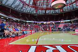 NORMAL, IL - November 03:  Redbird Arena during a college basketball game between the ISU Redbirds  and the Augustana Vikings on November 03 2018 at Redbird Arena in Normal, IL. (Photo by Alan Look)