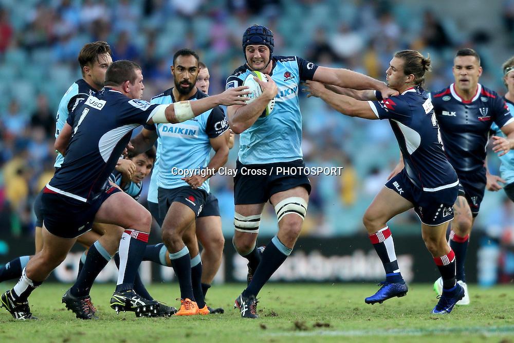 Dean Mumm. Waratahs v Rebels, Super Rugby Round 6. Played at Allianz Stadium, Sydney Australia on Sunday 3 April 2016. Copyright Photo: Clay Cross / photosport.nz