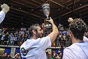 DESCRIZIONE : Final Eight Coppa Italia 2015 Finale Olimpia EA7 Emporio Armani Milano - Dinamo Banco di Sardegna Sassari<br /> GIOCATORE : Manuel Vanuzzo<br /> CATEGORIA : Esultanza Tifosi<br /> SQUADRA : Dinamo Banco di Sardegna Sassari<br /> EVENTO : Final Eight Coppa Italia 2015<br /> GARA : Olimpia EA7 Emporio Armani Milano - Dinamo Banco di Sardegna Sassari<br /> DATA : 22/02/2015<br /> SPORT : Pallacanestro <br /> AUTORE : Agenzia Ciamillo-Castoria/L.Canu